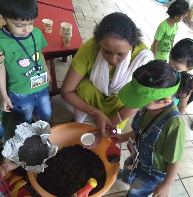 GREEN  DAY ACTIVITY & GROW MORE PLANTS