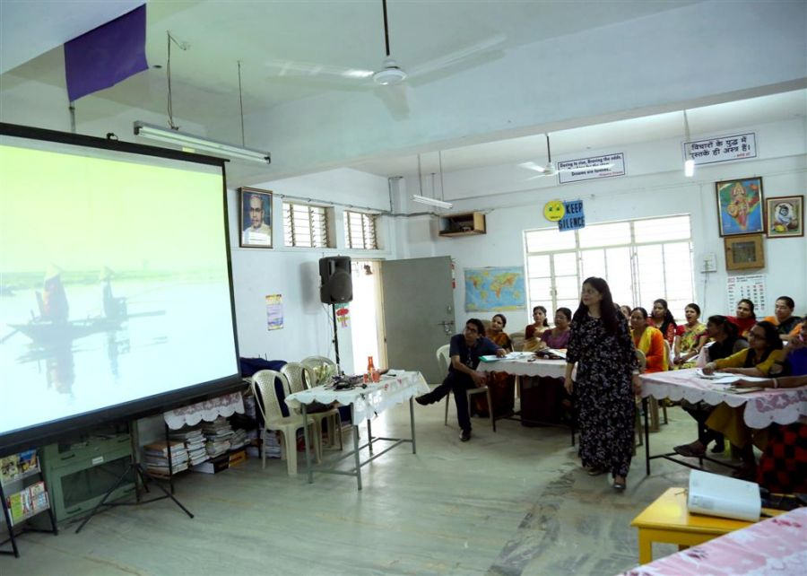 Teacher's Training Workshop  at Lalita Public School