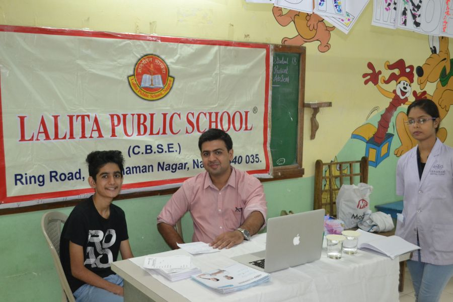 Dental Care Camp at Lalitha Public School