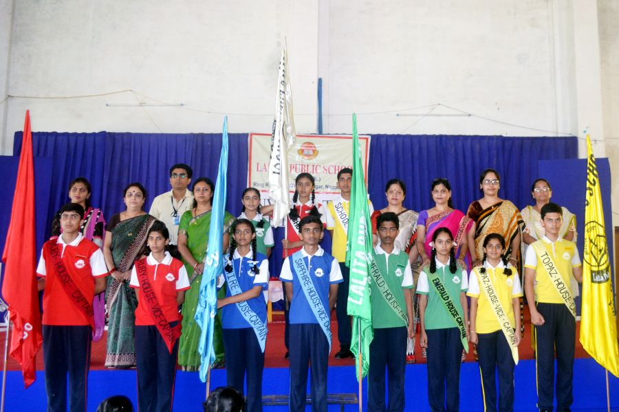 Investiture ceremony at Lalita Public School 2017 – 18